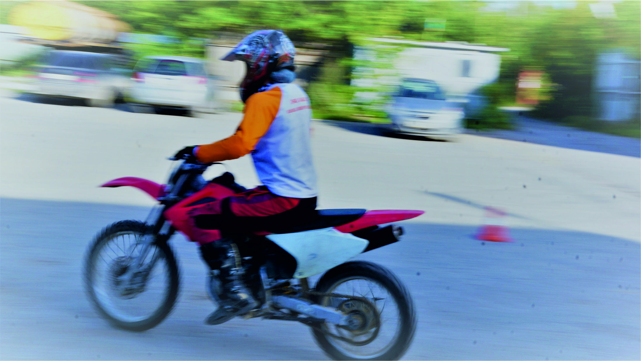 Контраварийная подготовка на мотоцикле
